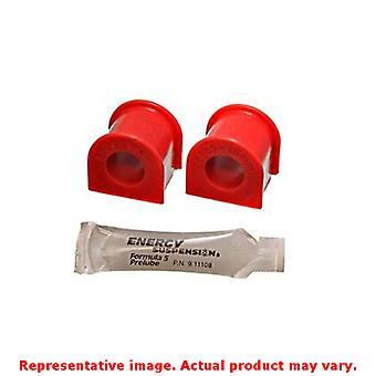 Energy Suspension Sway Bar Bushing Set 16.5111R Red Front Fits:HONDA 1988 - 199