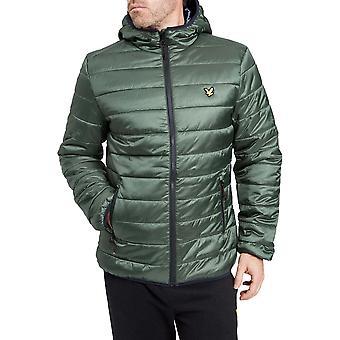 Lyle & Scott Mens Cooke Primaloft aislamiento chaqueta transpirable hoja