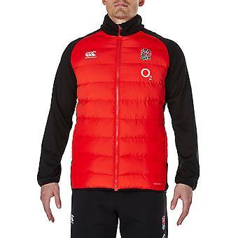 Canterbury Clothing Mens England Thermoreg Lightweight Hybrid Jacket
