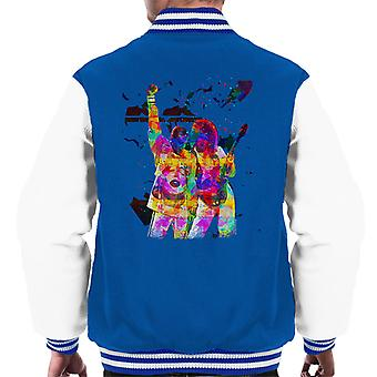 Brian May And Freddie Mercury 1989 Men's Varsity Jacket