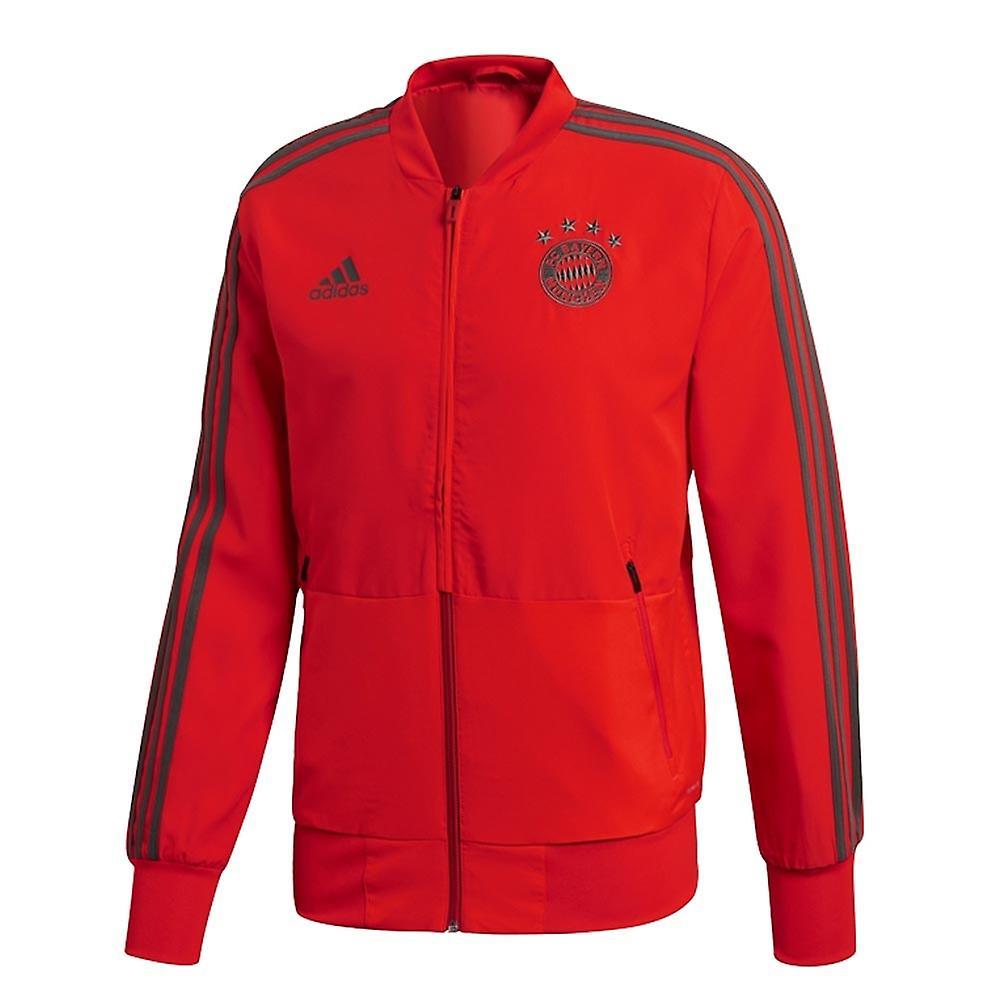 2018-2019 Bayern Munich Adidas veste de présentation (rouge)