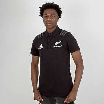 adidas New Zealand All Blacks 2018 Rugby Polo Shirt