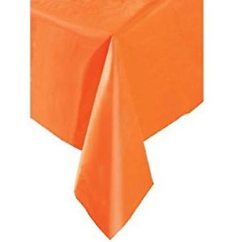 Mantel plástico naranja