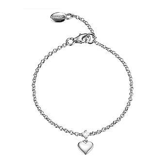 ESPRIT kids Bangle Bracelet silver heart ESBR91676A135