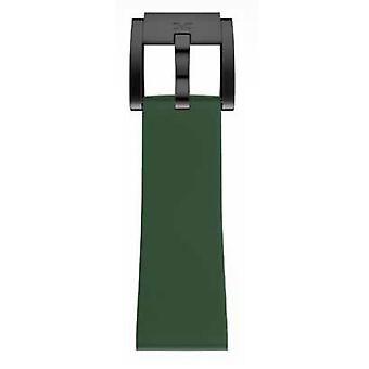 TW Steel Marc Coblen Bracelet Watch band silicone 22 MM dark green SB_DG_B