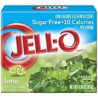 Jell-o Lime azúcar gelatina instantánea gratis gelatina mezcla