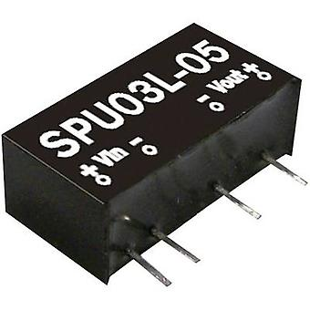 DC/DC-converter Mean Well SPU03M-05 600 mA