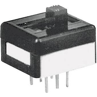 APEM 25139N090 25139NAH Slide Switch 25139NAH 1 x On/off/on 250 V AC 2 A