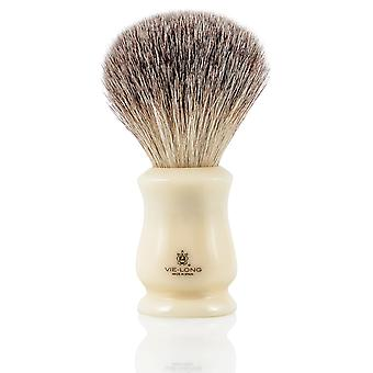 Vie-Long 16454 Grey Tip Badger Shaving Brush