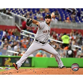 Madison Bumgarner 2018 Action Photo Print
