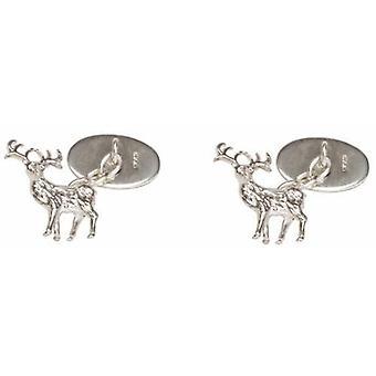 David Van Hagen srebrne spinki jelenia
