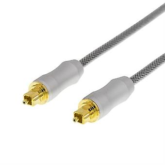 DELTACO PRIME High End Toslink, optical cable 2 meters