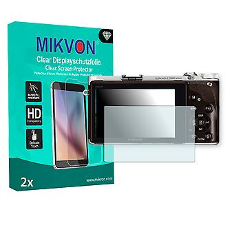 Samsung NX300 Screen Protector - Mikvon Clear (Retail Package with accessories)