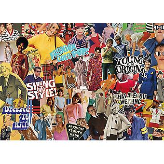 Gibsons Vintage Fashion Jigsaw Puzzle (1000 pieces)
