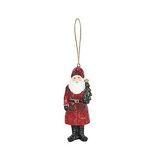 Something Different Santa With Christmas Tree Decoration