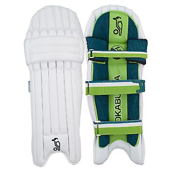 Kookaburra 2019 Kahuna 2.0 Cricket Batting Pads Leg Guards White/Green