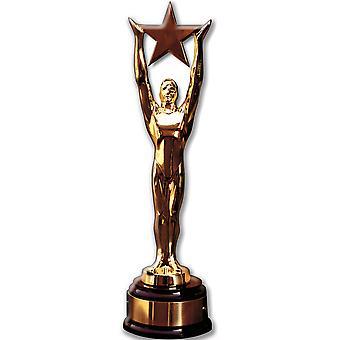 Stjärniga Award (Party Prop) - Lifesize kartong släppandet / stående