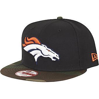 New era 9Fifty Snapback Cap - Denver Broncos black / camo