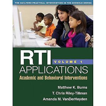 Rti Applications, Volume 1