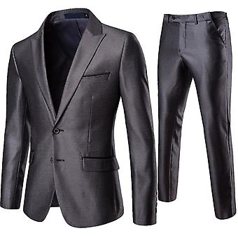 Cloudstyle Men's Suit Slim Fit Business Suit