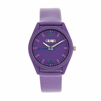 Crayo Dynamic Unisex Watch - Purple