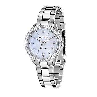 Sector women's Quartz analogue watch with stainless steel band R3253486502
