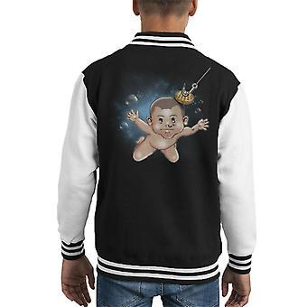 Strangermind Stranger Things Nevermind Kid's Varsity Jacket