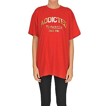 P.a.r.o.s.h. Red Cotton T-shirt