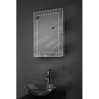 Elora LED Bathroom Cabinet with Demister Pad, Sensor & Shaver k347