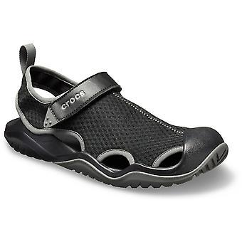 Crocs Mens Swiftwater Lightweight Flexible Slip On Shandals