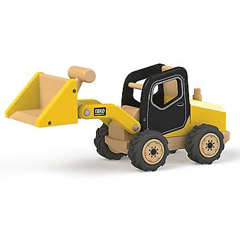 Tidlo Wooden Front End Loader Construction Vehicles Roleplay Accessories