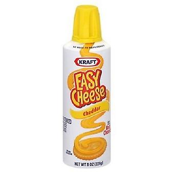 Kraft Easy Cheese Squeeze Can Cheddar Flavor