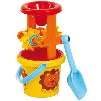 Gowi Toys Bucket and Mill Set Bath Water Beach Sand Toys