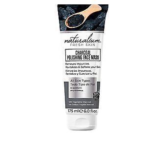 Naturalium Charcoal Polishing Face Mask All Skin Types 175ml