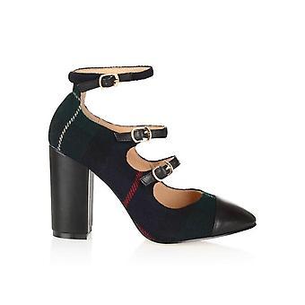 Battersea tartan shoes