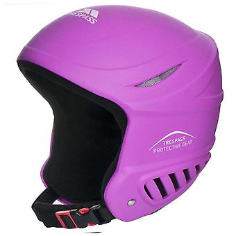 Trespass Girls Belker Snowsport Ski Snowboarding Helmet Pink