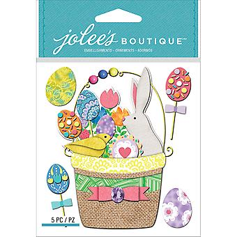 Jolee's Boutique Dimensional Stickers-Ostern Korb E5021767