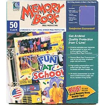Memory Book Top Loading Page Protectors 8.5