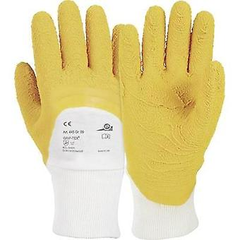 KCL 445 Glove Grip-Tex® Cotton tricot with coating of natural latex Size 9