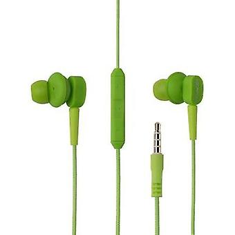 Headphone Boompods Earbuds MFI In-ear Headset Green