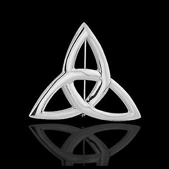 Brooches Store Silver Plated Celtic Trinity Knot Brooch
