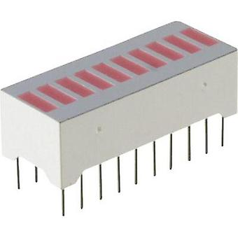 LED bargraph array Red (L x W x H) 25.53 x 12.06 x 10.16 mm Everlight Opto