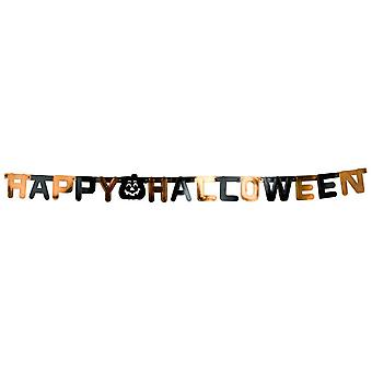 Rubie's Happy Halloween garland 154C (Kids , Toys , Parties , Decorations , Garlands)