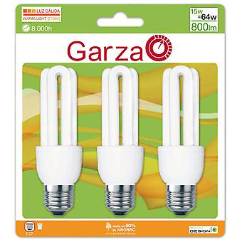 Garza Stick T3 15W E27 bulbs 800Lm 27K (3 units)