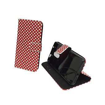 Mobile phone case pouch for mobile Xiaomi Redmi Pro polka dot Red