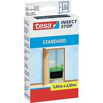 Fly screen tesa Insect Stop Standard (L x W) 2200 mm x 1300 mm Anthracite 1 pc(s)