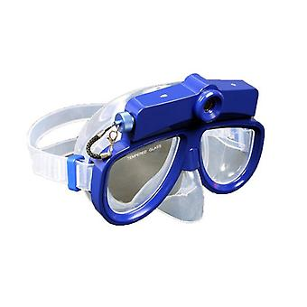 Diving mask with Camera