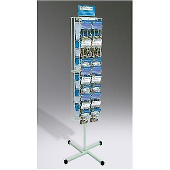 DL Carousel - 2 Sided DL size brochure carousel display unit