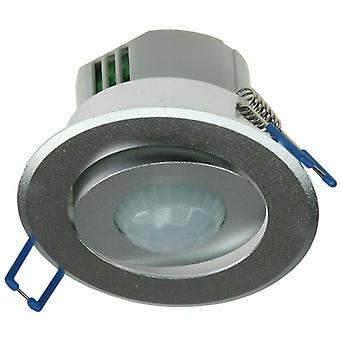 Cover 6 m silver - installation - motion detector suitable 360° ALU LED, Swivel,