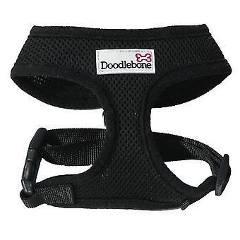 Doodlebone Harness Black Medium 36-48cm